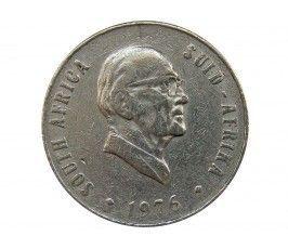 Южная Африка 50 центов 1976 г. (Окончание президентства Якобуса Йоханнеса Фуше)