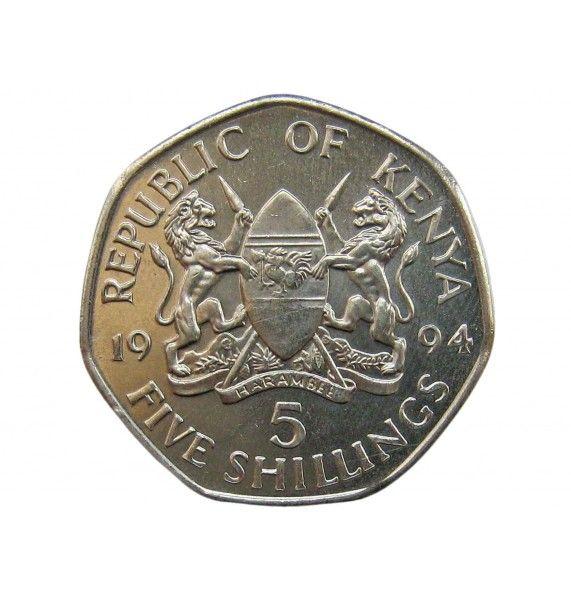 Кения 5 шиллингов 1994 г.