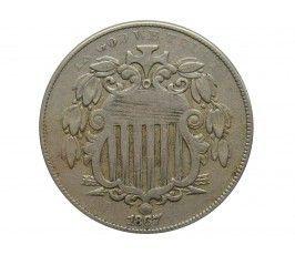 США 5 центов 1867 г.