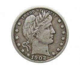 США квотер (25 центов) 1902 г.