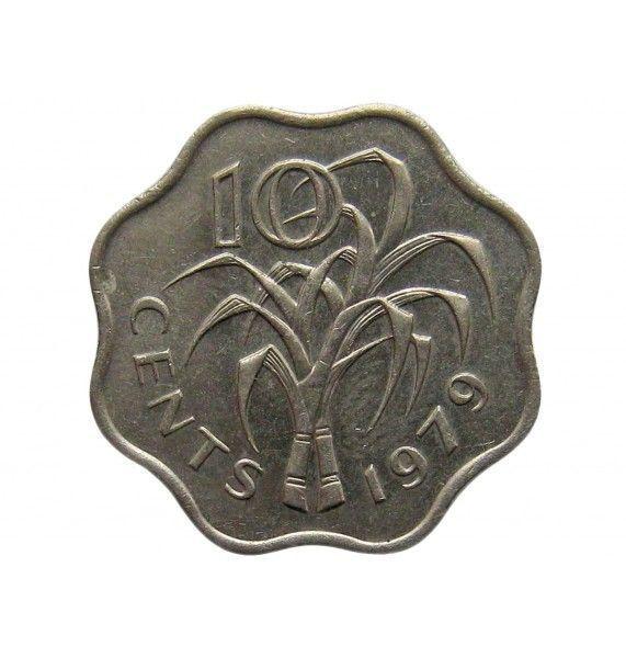 Свазиленд 10 центов 1979 г.