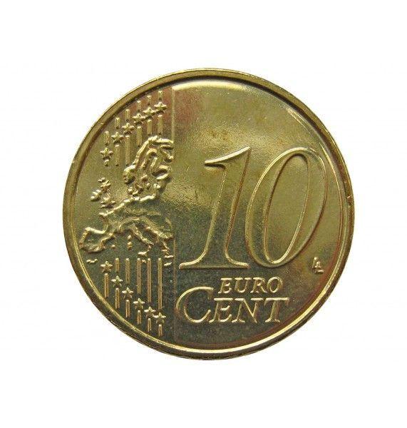 Бельгия 10 евро центов 2015 г.