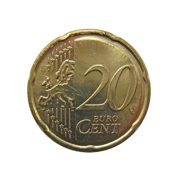 Эстония 20 евро центов 2011 г.