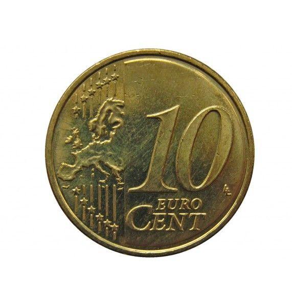 Финляндия 10 евро центов 2013 г.