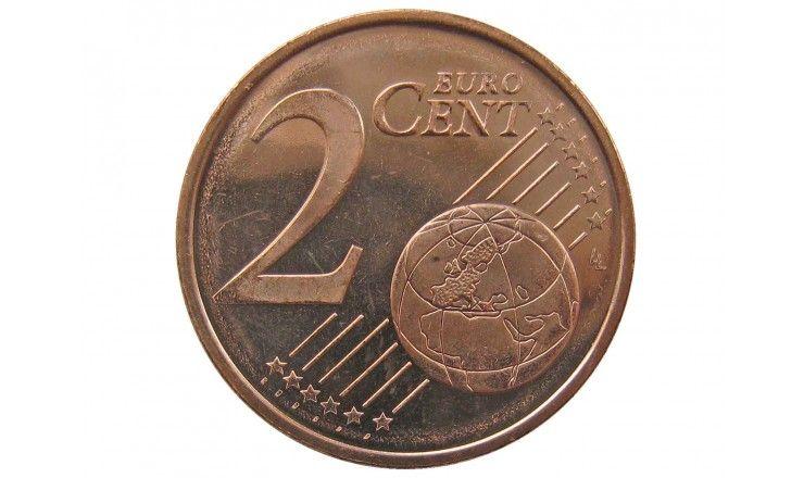 Финляндия 2 евро цента 2007 г.