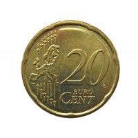 Греция 20 евро центов 2008 г.