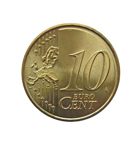 Испания 10 евро центов 2013 г.