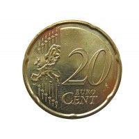 Испания 20 евро центов 2014 г.