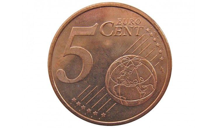 Испания 5 евро центов 2018 г.