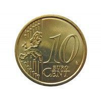 Италия 10 евро центов 2009 г.