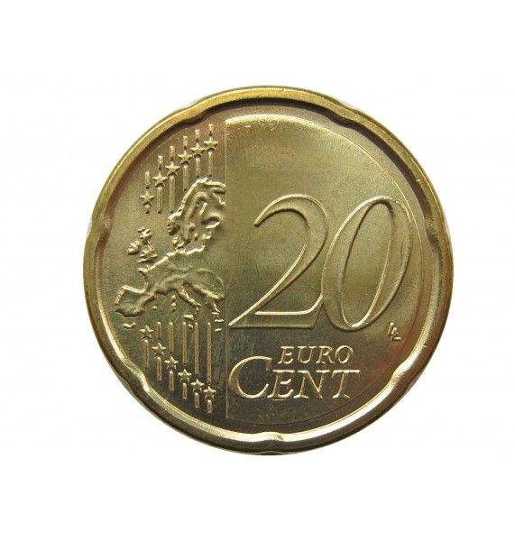 Италия 20 евро центов 2012 г.