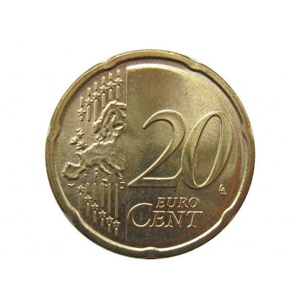 Литва 20 евро центов 2017 г.