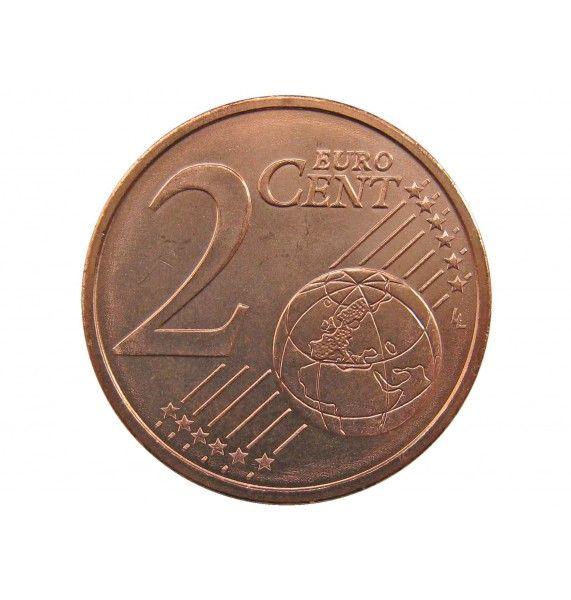 Мальта 2 евро цента 2008 г.