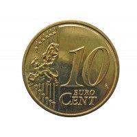 Словения 10 евро центов 2007 г.