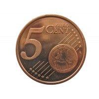 Словения 5 евро центов 2007 г.
