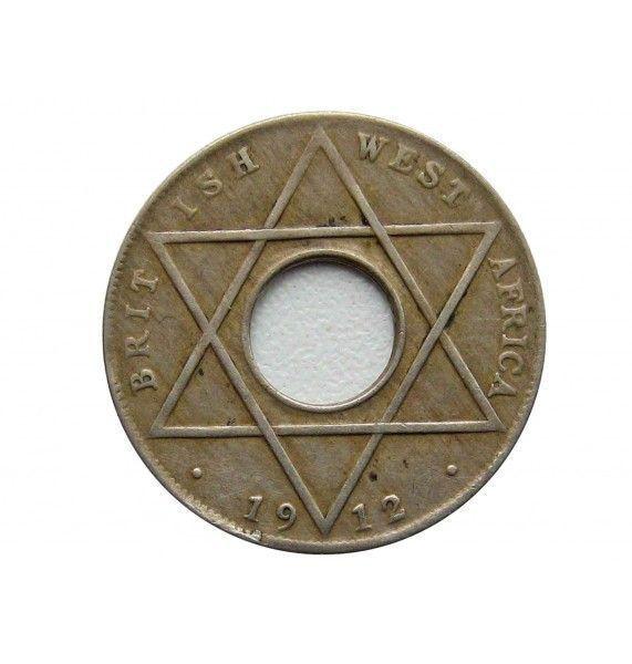 Британская Западная Африка 1/10 пенни 1912 г. H