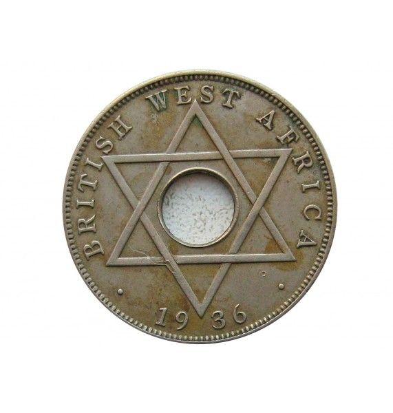 Британская Западная Африка 1/2 пенни 1936 г.