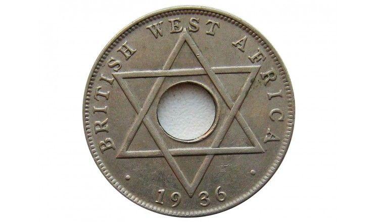 Британская Западная Африка 1/2 пенни 1936 г. KN