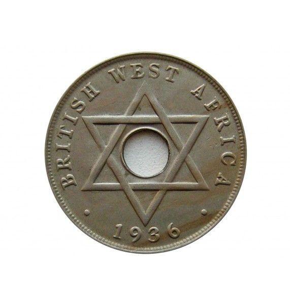 Британская Западная Африка 1 пенни 1936 г. H