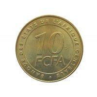 Центрально-Африканские штаты 10 франков 2006 г.