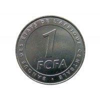 Центрально-Африканские штаты 1 франк 2006 г.