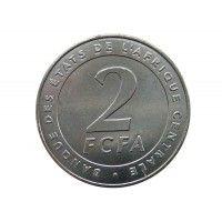 Центрально-Африканские штаты 2 франка 2006 г.