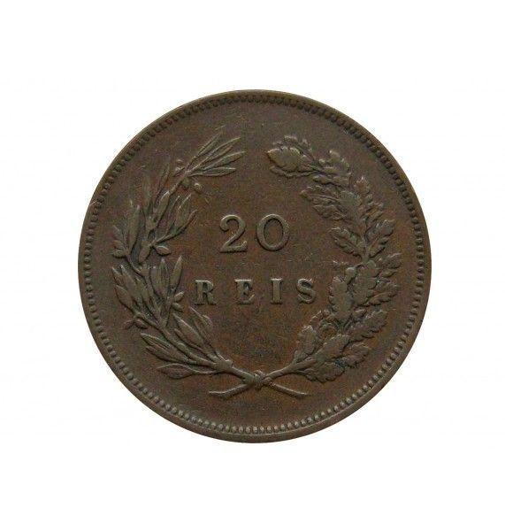 Португалия 20 рейс 1891 г.