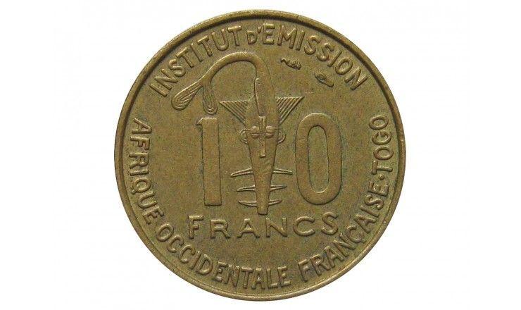 Французская Западная Африка (Того) 10 франков 1957 г.