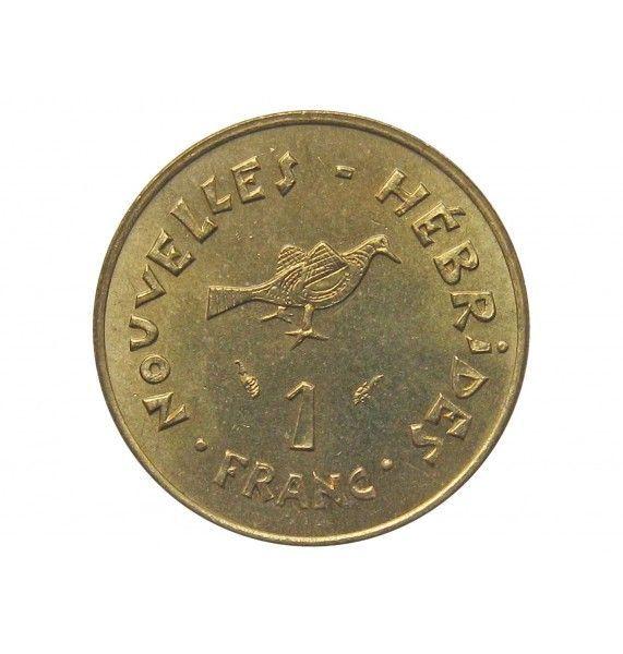 Новые Гебриды 1 франк 1979 г.