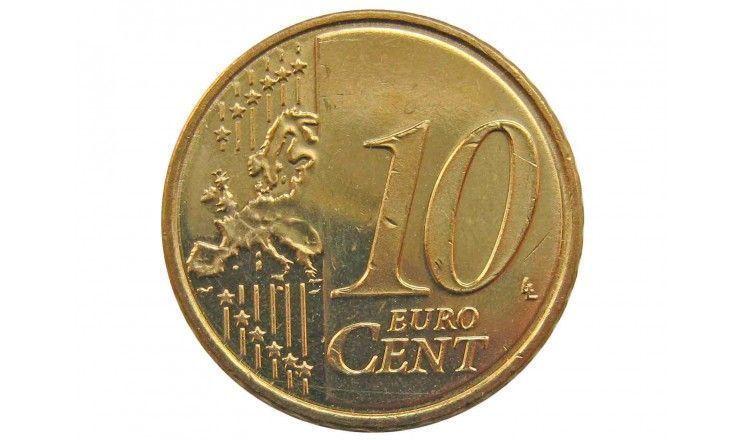 Кипр 10 евро центов 2008 г.