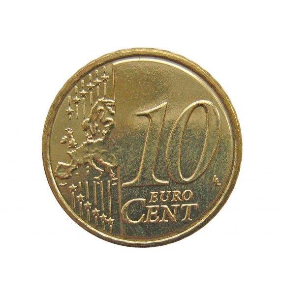 Кипр 10 евро центов 2015 г.