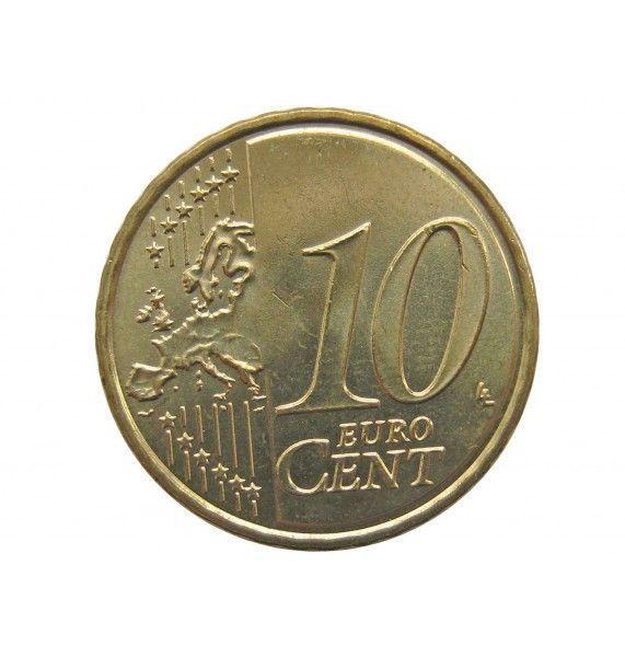 Испания 10 евро центов 2018 г.
