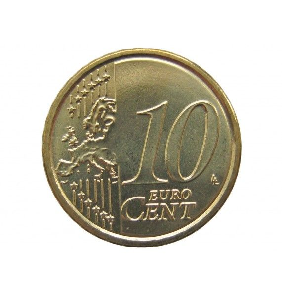 Италия 10 евро центов 2018 г.