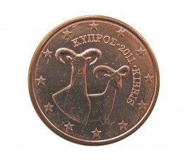 Кипр 1 евро цент 2011 г.