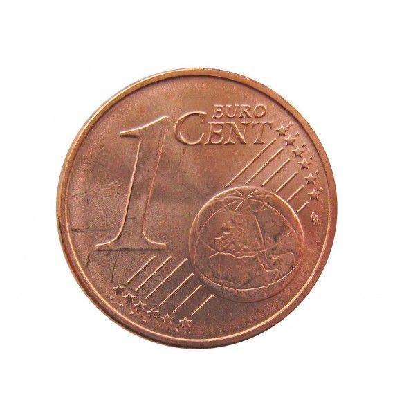 Литва 1 евро цент 2015 г.