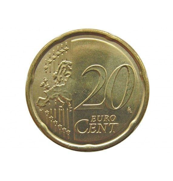 Италия 20 евро центов 2011 г.