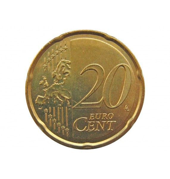 Испания 20 евро центов 2018 г.