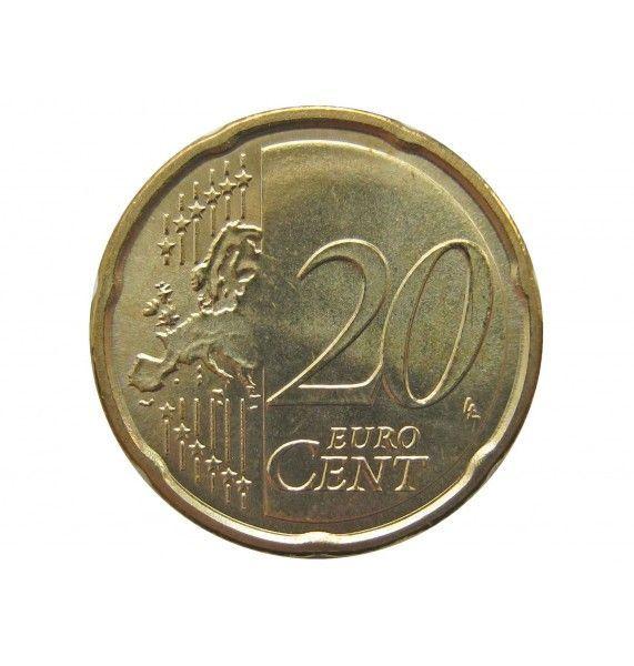 Италия 20 евро центов 2018 г.
