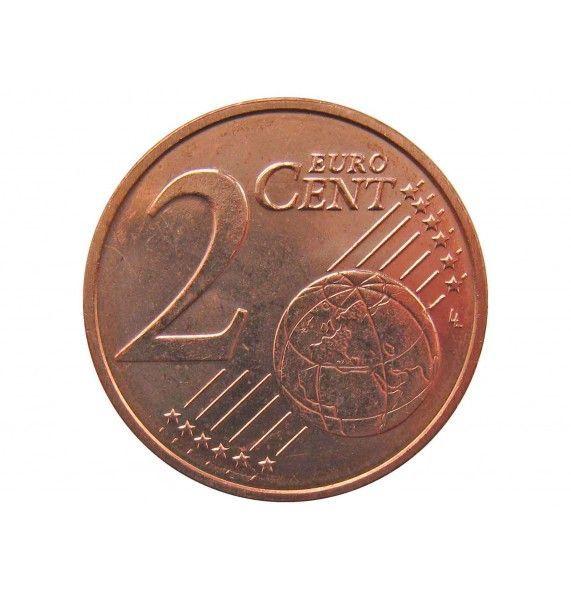 Эстония 2 евро цента 2012 г.