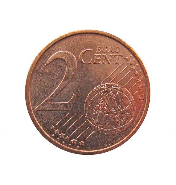 Испания 2 евро цента 2012 г.