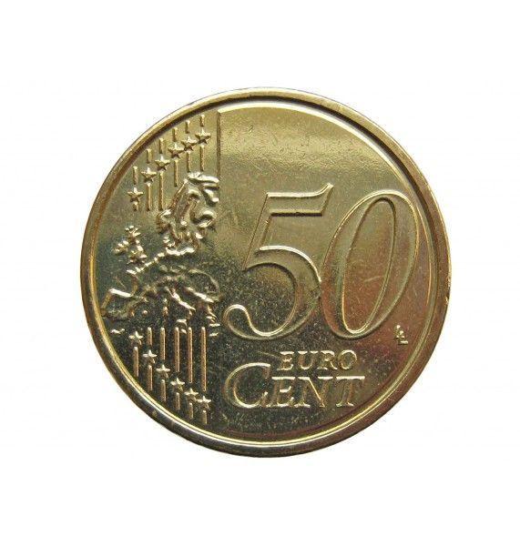 Бельгия 50 евро центов 2009 г.
