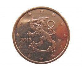 Финляндия 5 евро центов 2013 г.