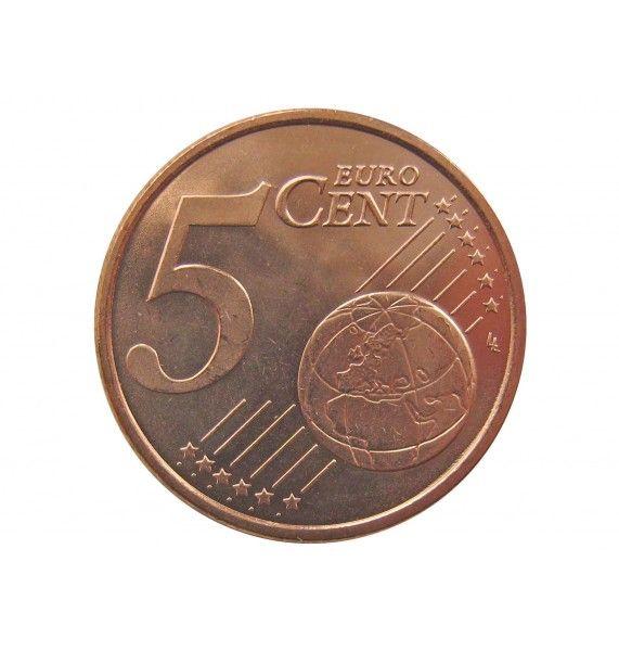 Испания 5 евро центов 2014 г.