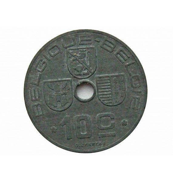 Бельгия 10 сантимов 1943 г. (Belgique-Belgie)