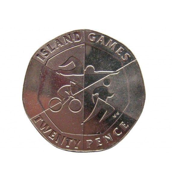 Гибралтар 20 пенсов 2019 г. (Островные игры)