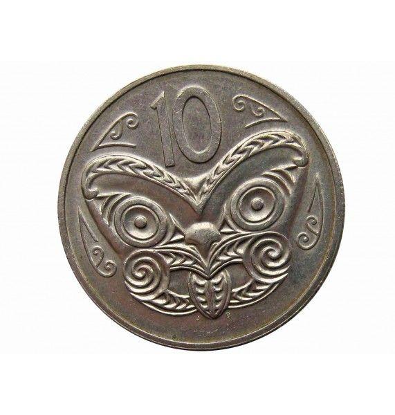 Новая Зеландия 10 центов 1985 г.