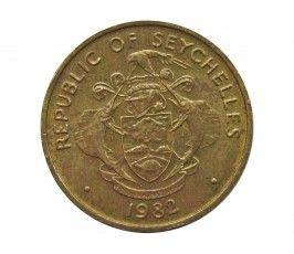 Сейшелы 10 центов 1982 г.