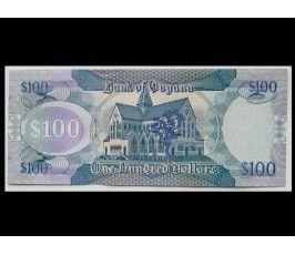 Гайана 100 долларов 2009 г.