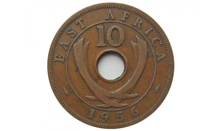 Британская Восточная Африка 10 центов 1956 г.