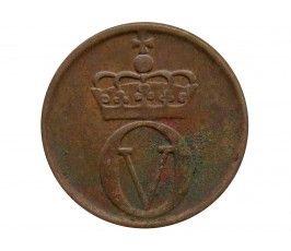 Норвегия 1 эре 1964 г.